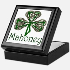 Mahoney Shamrock Keepsake Box