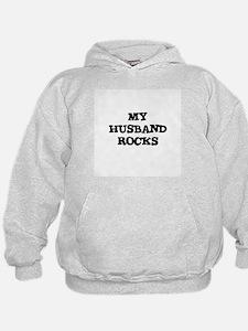 MY HUSBAND ROCKS Hoodie