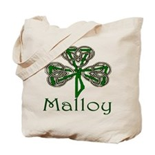 Malloy Shamrock Tote Bag