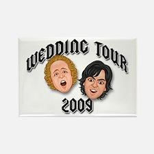 JEFFSTER! Wedding Tour Rectangle Magnet