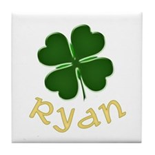 Ryan Irish Tile Coaster