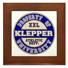 Klepper Athletic Department Framed Tile