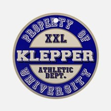 Klepper Athletic Department Ornament (Round)