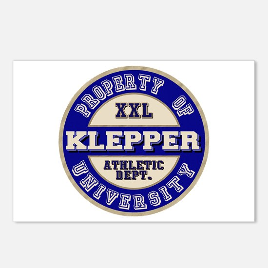 Klepper Athletic Department Postcards (Package of