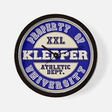 Klepper Athletic Department Wall Clock