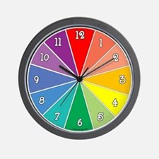 Color Time Wall Clock