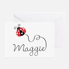 Ladybug Maggie Greeting Cards (Pk of 20)