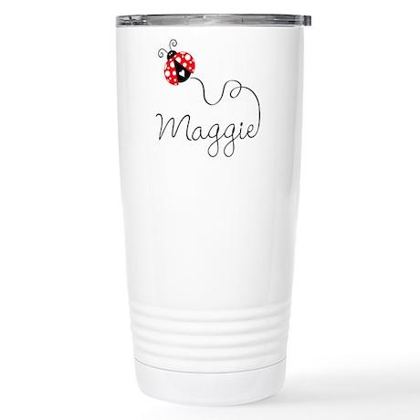 Ladybug Maggie Stainless Steel Travel Mug