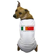 Irish Chinese heritage flag Dog T-Shirt