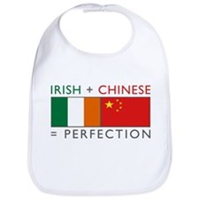 Irish Chinese heritage flag Bib