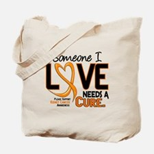 Needs A Cure 2 KIDNEY CANCER Tote Bag