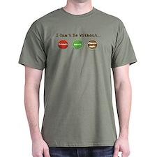 Friends Music Cheese Curls T-Shirt