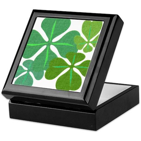 4-Leaf Clover Keepsake Box