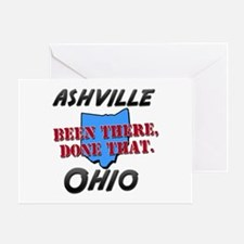 ashville ohio - been there, done that Greeting Car