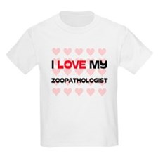 I Love My Zoopathologist T-Shirt