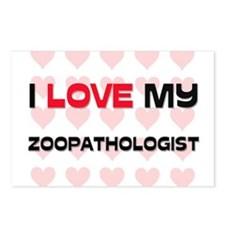 I Love My Zoopathologist Postcards (Package of 8)