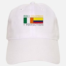 Irish Colombian heritage flag Baseball Baseball Cap