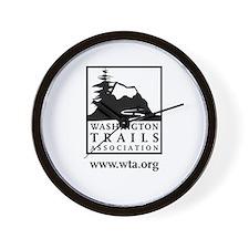 WTA logo Wall Clock