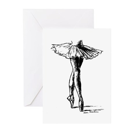 Ballet Greeting Cards (Pk of 10)