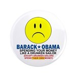 "Obama Spending 3.5"" Button (100 pack)"