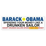 Obama Spending Bumper Sticker