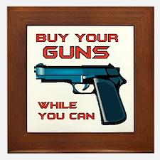 GUN MAN Framed Tile