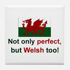 Perfect Welsh Tile Coaster