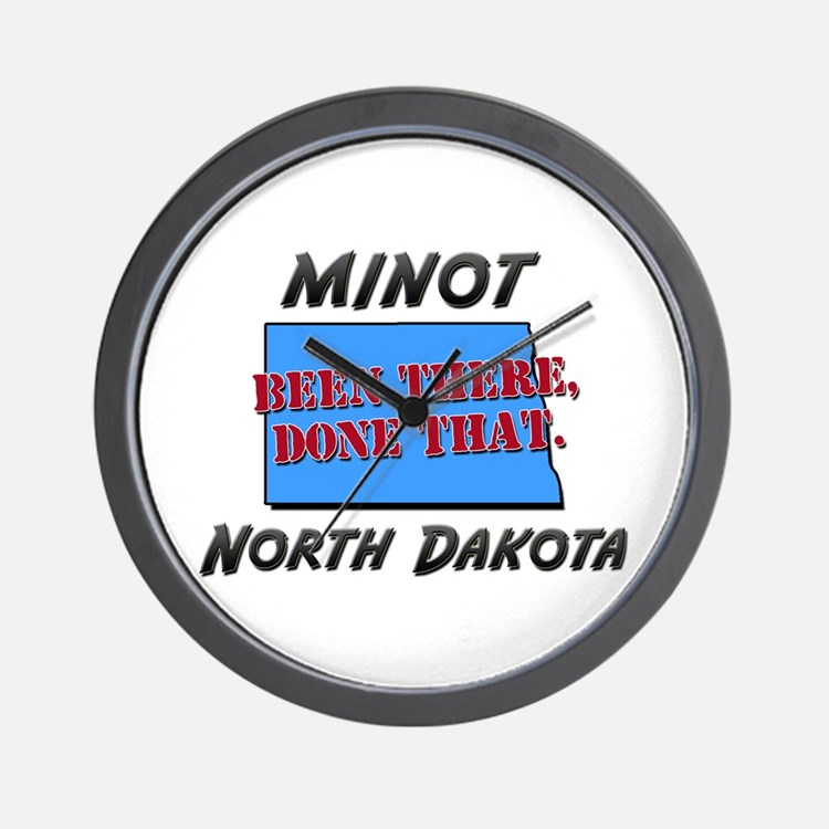 minot north dakota - been there, done that Wall Cl