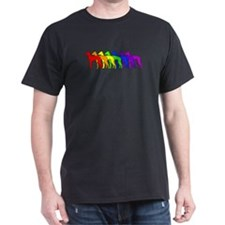 Rainbow Italian Greyhound T-Shirt