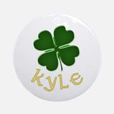 Kyle Irish Ornament (Round)