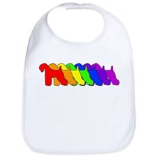 Rainbow Kerry Blue Bib