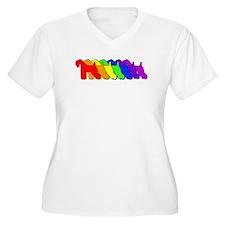 Rainbow Kerry Blue T-Shirt