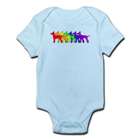 Rainbow Manchester Infant Bodysuit