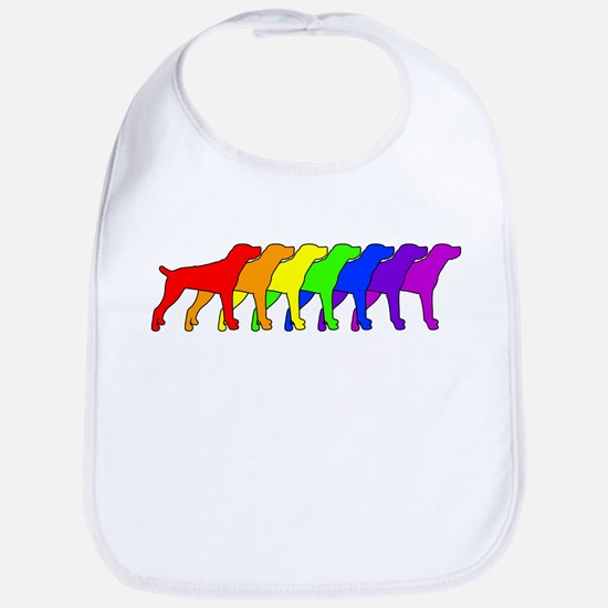 Rainbow Cur Bib