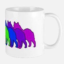 Rainbow Elkhound Mug