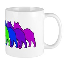 Rainbow Elkhound Mug