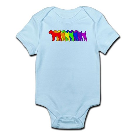 Rainbow Russell Infant Bodysuit