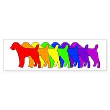 Rainbow Russell Bumper Bumper Sticker