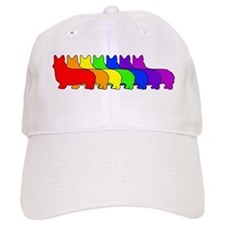 Rainbow Pembroke Baseball Cap