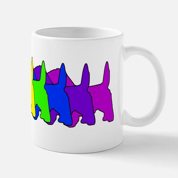 Rainbow PBGV Mug