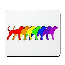 Rainbow Plott Mousepad