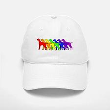 Rainbow Pointer Baseball Baseball Cap
