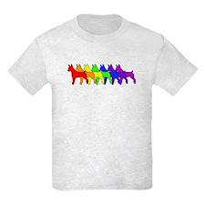 Rainbow Rat Terrier T-Shirt