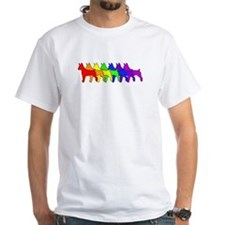 Rainbow Rat Terrier Shirt
