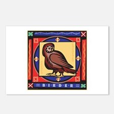 Owl Birdwatching Postcards (Package of 8)