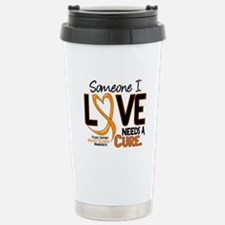 Needs A Cure 2 MULTIPLE SCLEROSIS Travel Mug