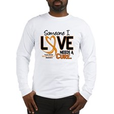 Needs A Cure 2 MULTIPLE SCLEROSIS Long Sleeve T-Sh
