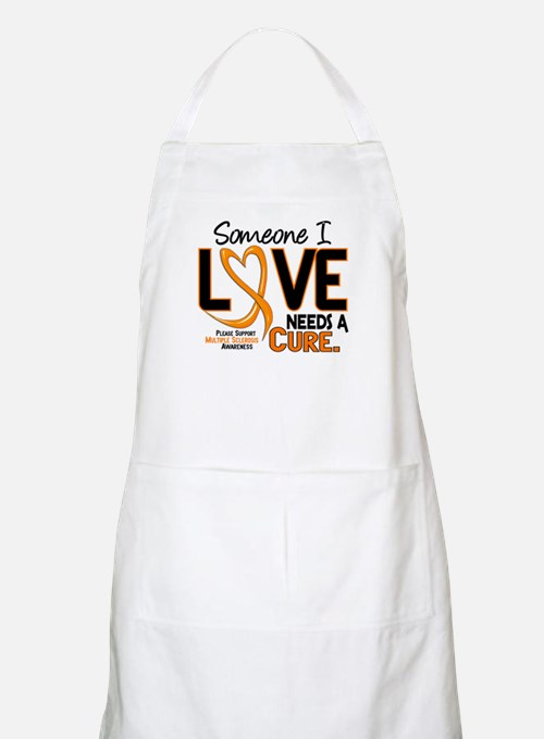 Needs A Cure 2 MULTIPLE SCLEROSIS BBQ Apron