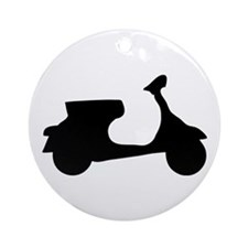 scooter Ornament (Round)