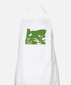 Green Oregon BBQ Apron